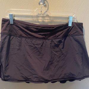 Lulu 🍋 pacesetter skirt cadet blue size 10